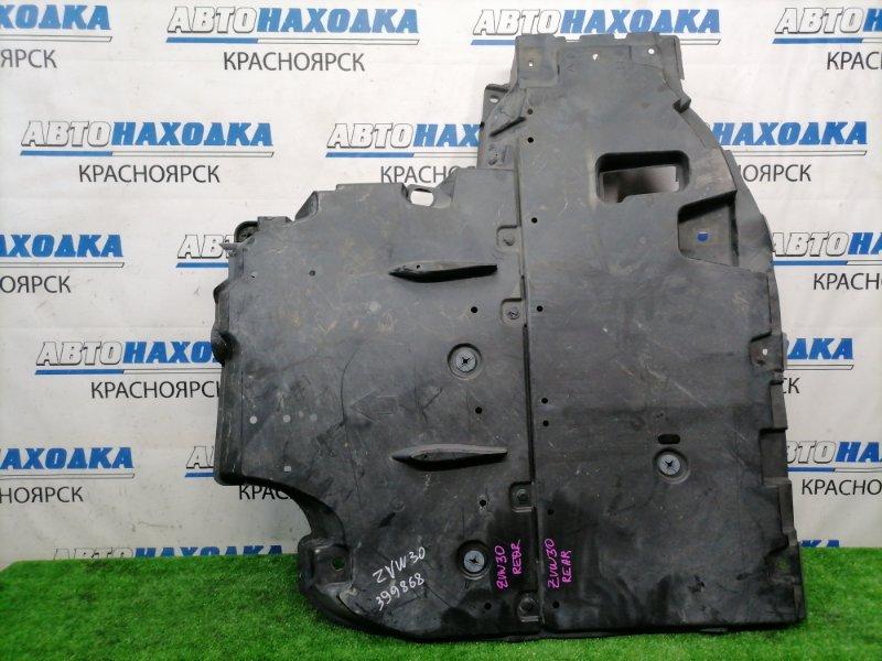 Защита Toyota Prius ZVW30 2ZR-FXE 2009 задняя днища, задняя