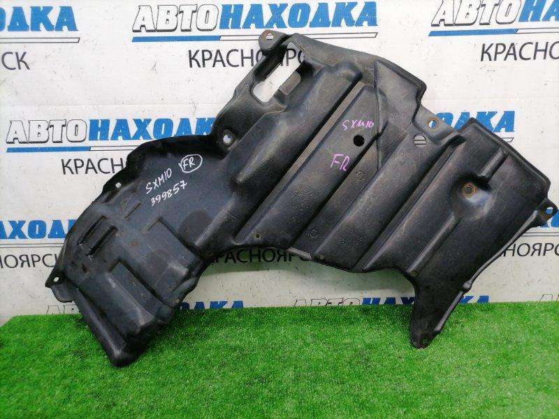 Защита двс Toyota Gaia SXM10G 3S-FE 1998 передняя правая передняя правая