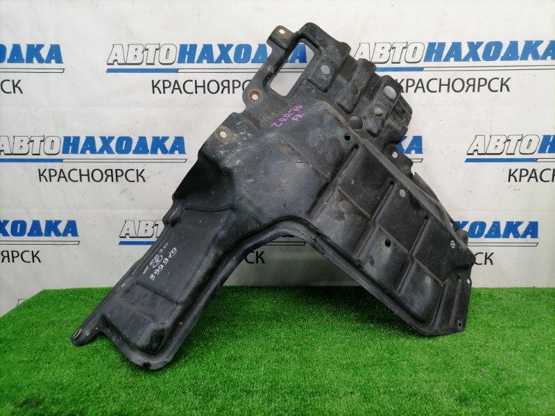 Защита двс Toyota Voxy ZRR70W 3ZR-FAE 2007 передняя правая передняя правая