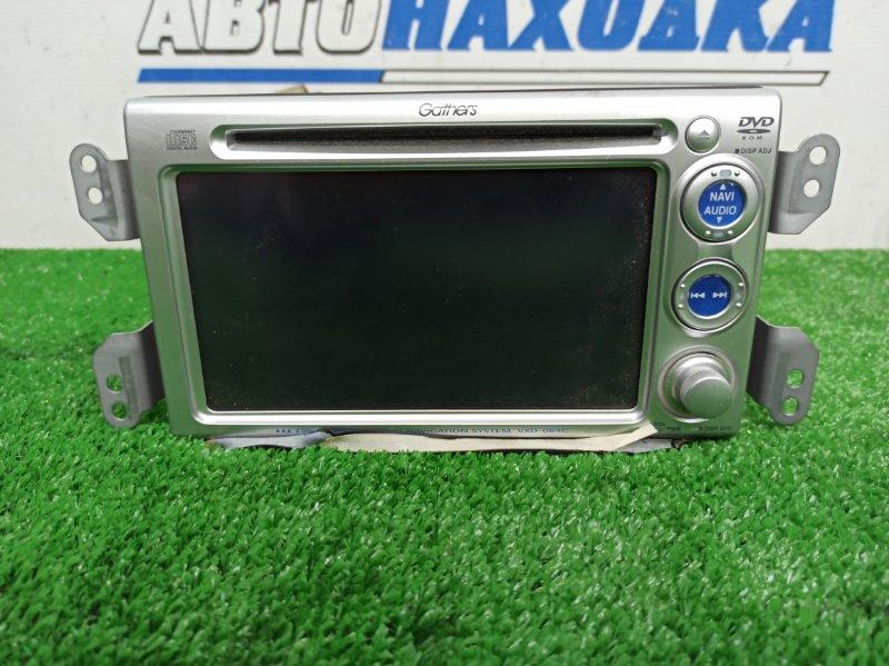 Магнитола Honda Fit GD1 L13A 2005 VXD-064C KENWOOD Gathers VXD-064C, 2 DIN, CD / DVD / AM / FM, с фишками, есть вход для