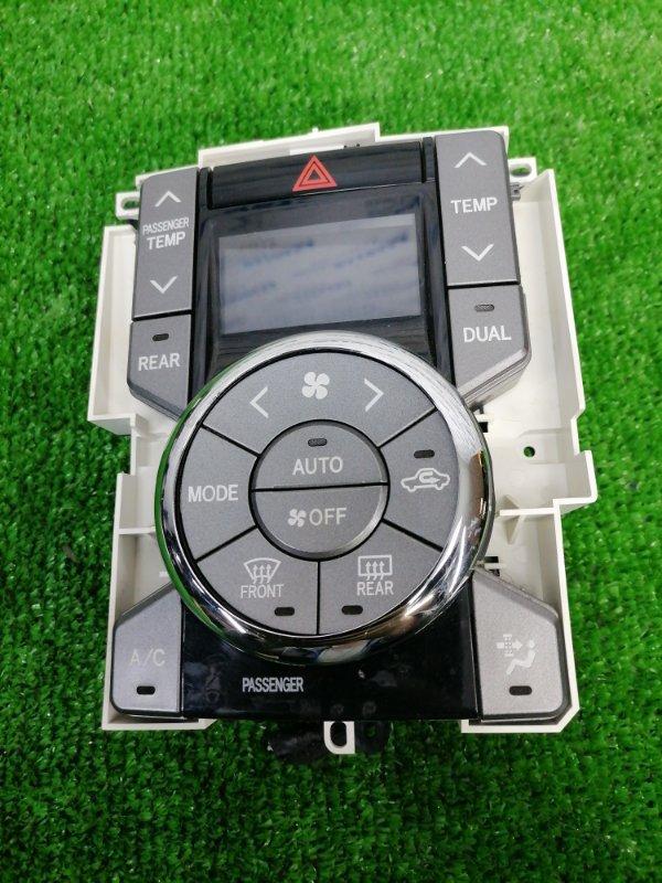 Климат-контроль Toyota Voxy ZRR70W 3ZR-FAE 2007 электронный, с фишкой