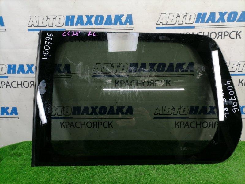 Стекло собачника Nissan Serena CC25 MR20DE 2005 заднее левое заднее левое