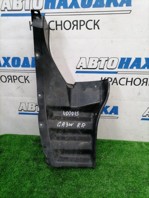 Подкрылок Mitsubishi Asx GA3W 4B10 2010 задний правый задний правый