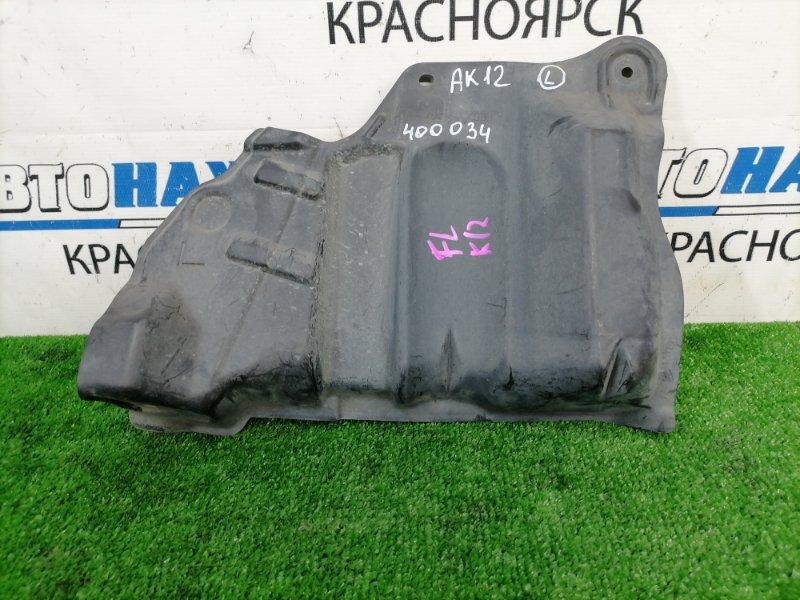 Защита двс Nissan March AK12 CR12DE 2002 передняя левая левая, боковая