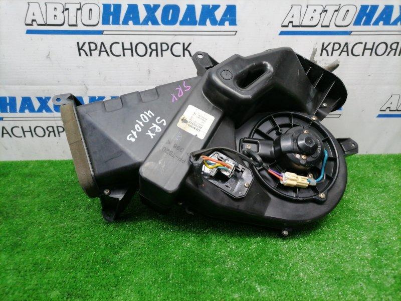 Радиатор печки Cadillac Srx LH2 2003 задний задний отопитель в корпусе, с мотором и реостатом,