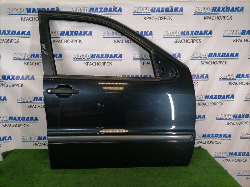 Дверь Mercedes-Benz Ml320 W163 M112 E32 1997 передняя правая В целом ХТС, передняя правая, черная с