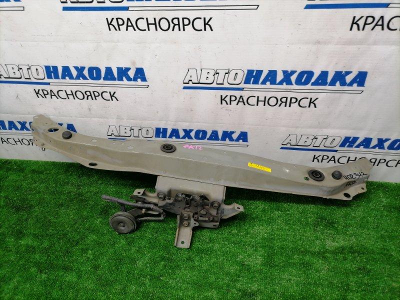 Рамка радиатора Nissan March AK12 CR12DE 2002 передняя верхняя Верхняя часть рамки радиатора, с