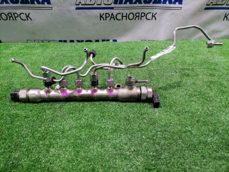 Рейка топливная Mazda Cx-5 KE2FW SH-VPTS 2012 A502003 В сборе, с трубками и датчиками. Пробег 73 т.км.