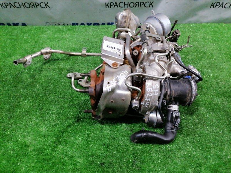 Турбина Mazda Cx-5 KE2FW SH-VPTS 2012 08103585002S 8103570002 8103585003S SH0113700A В сборе. Две турбины. HONEYWELL.