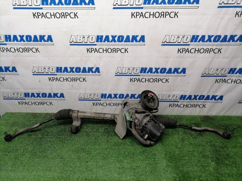Рейка рулевая Honda Stream RN6 R18A 2006 Электро, в сборе, с тягами и наконечниками, поврежден