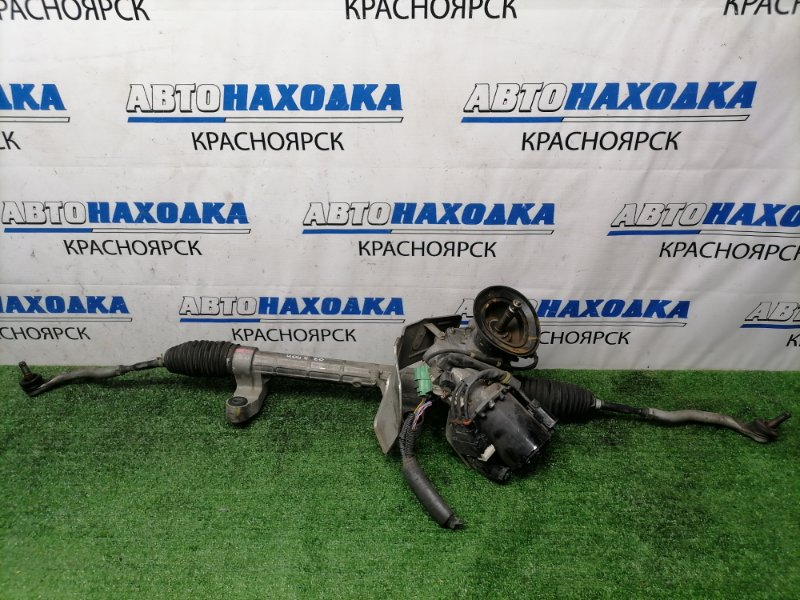 Рейка рулевая Honda Stream RN6 R18A 2006 Электро, в сборе, с тягами и наконечниками