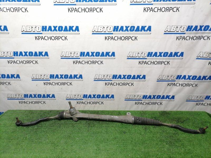 Рейка рулевая Toyota Estima ACR50W 2AZ-FE 2006 Сухая, в сборе, с тягами и наконечниками.