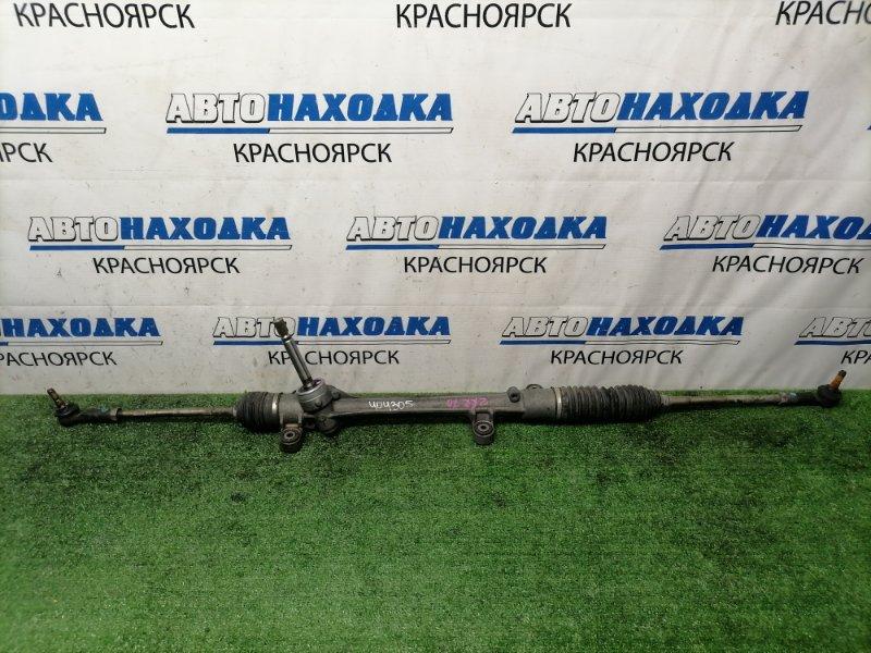 Рейка рулевая Toyota Voxy ZRR70W 3ZR-FAE 2007 Сухая, в сборе, с тягами и наконечниками, не люфтит.