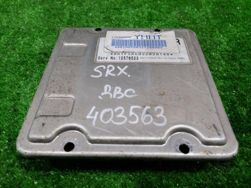 Компьютер Cadillac Srx LH2 2003 блок управления ДВС (LH2 4,6L 32V NORTHSTAR V8)