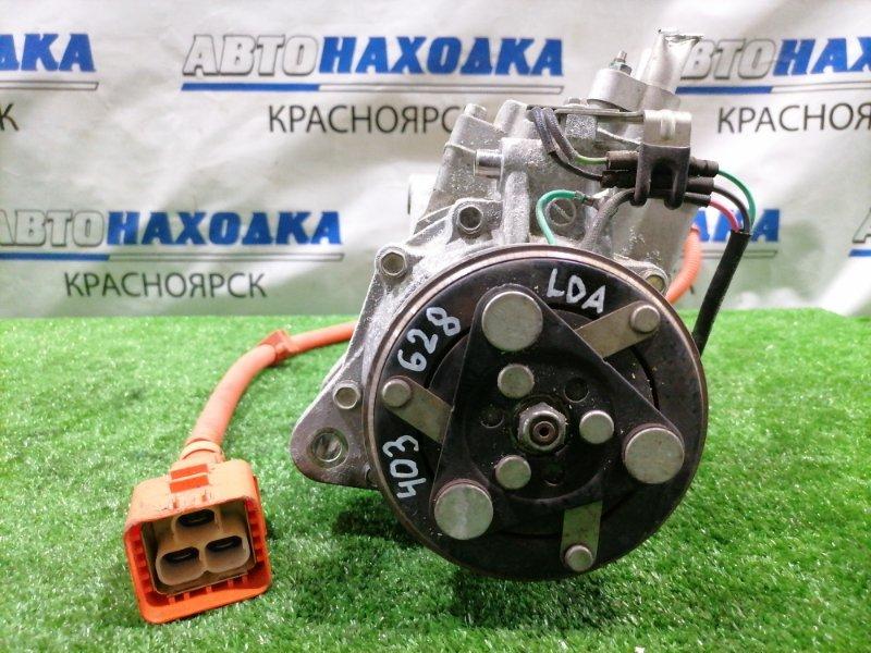 Компрессор кондиционера Honda Civic FD3 LDA 2008 пробег 69 т.км. ХТС. С аукционного авто.