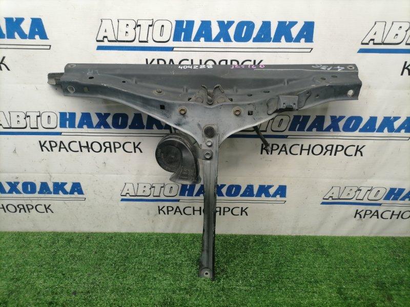 Рамка радиатора Toyota Aristo JZS160 2JZ-GE 2000 верхняя верхняя часть (центр), с вертикальной