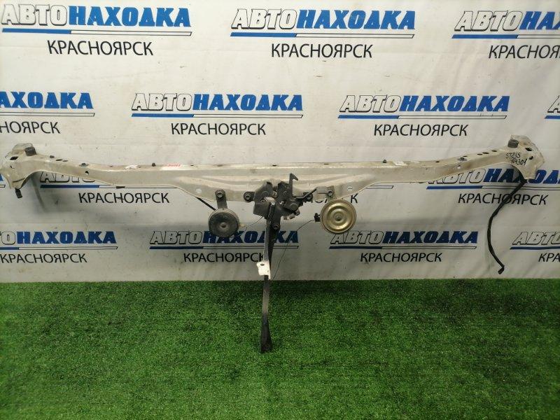 Рамка радиатора Toyota Caldina ST215G 3S-FE 2000 верхняя верхняя часть с вертикальной планкой, с