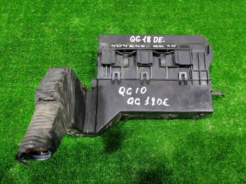 Блок предохранителей Nissan Bluebird Sylphy QG10 QG18DE 2000 подкапотный, в сборе