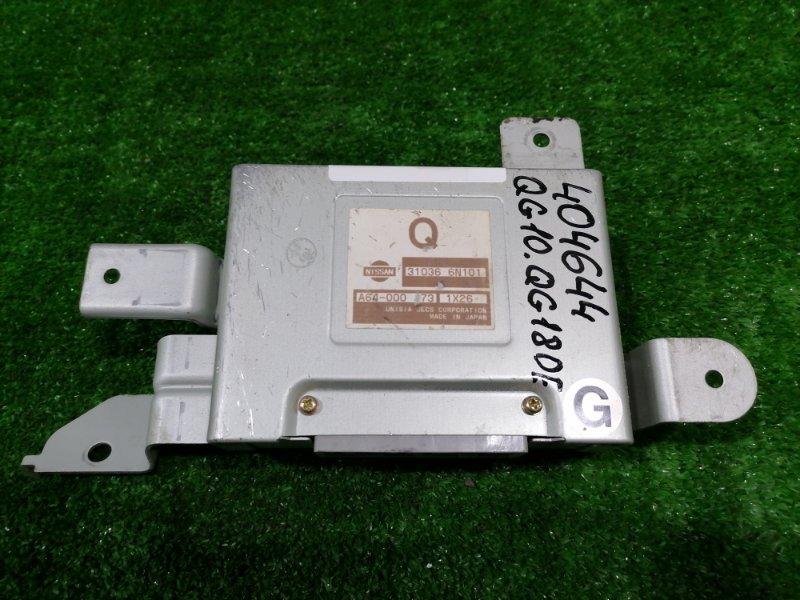 Компьютер Nissan Bluebird Sylphy QG10 QG18DE 2000 блок управления АКПП