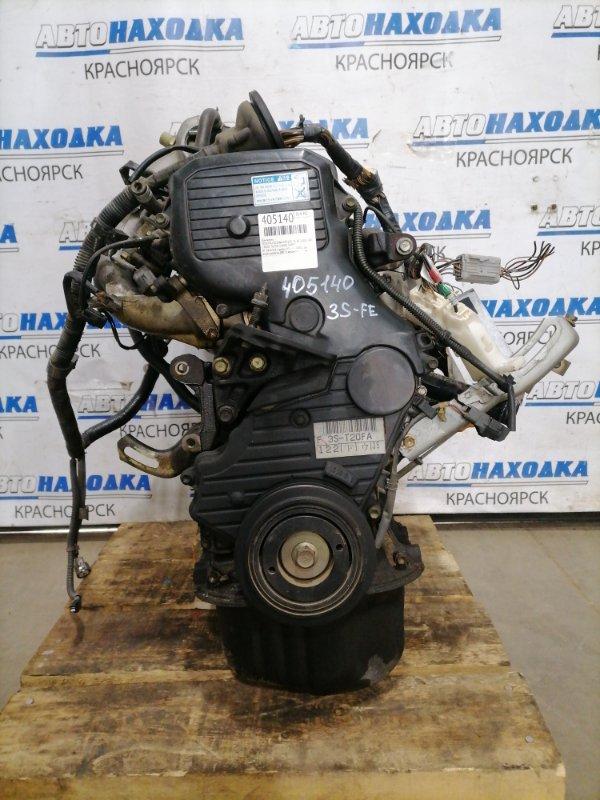 Двигатель Toyota Caldina ST215G 3S-FE 2000 2845354 № 2845354, пробег 95 т.км. 4WD. Есть видео работы ДВС. С