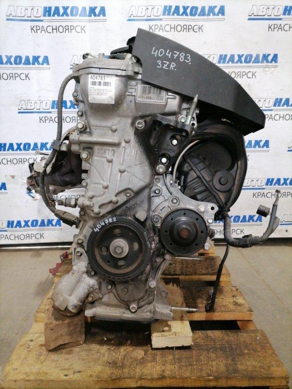 Двигатель Toyota Voxy ZRR70W 3ZR-FAE 2007 A039232 № A039232, с аукционного авто. Есть видео работы ДВС.
