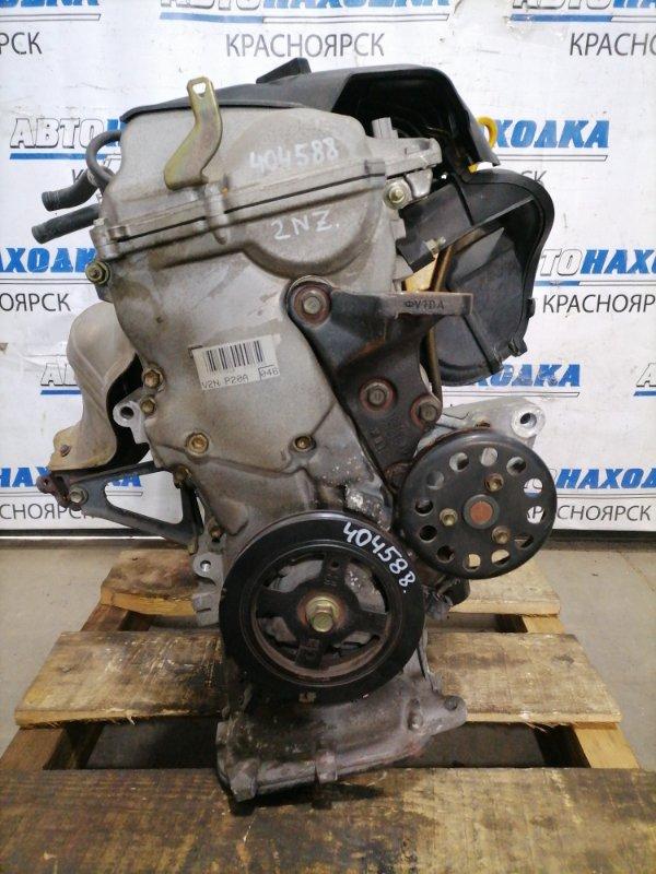 Двигатель Toyota Vitz NCP10 2NZ-FE 2001 2455717 № 2455717, пробег 50 т.км. Есть видео работы ДВС. С