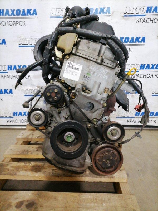 Двигатель Nissan March AK12 CR12DE 2002 038487 № 038487, пробег 70 т.км. Есть видео работы ДВС. С