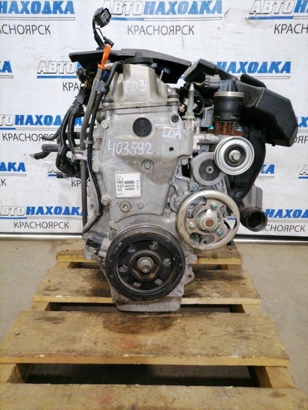 Двигатель Honda Civic FD3 LDA 2008 № 1402340, пробег 69 т.км. Есть видео работы ДВС. С аукционного