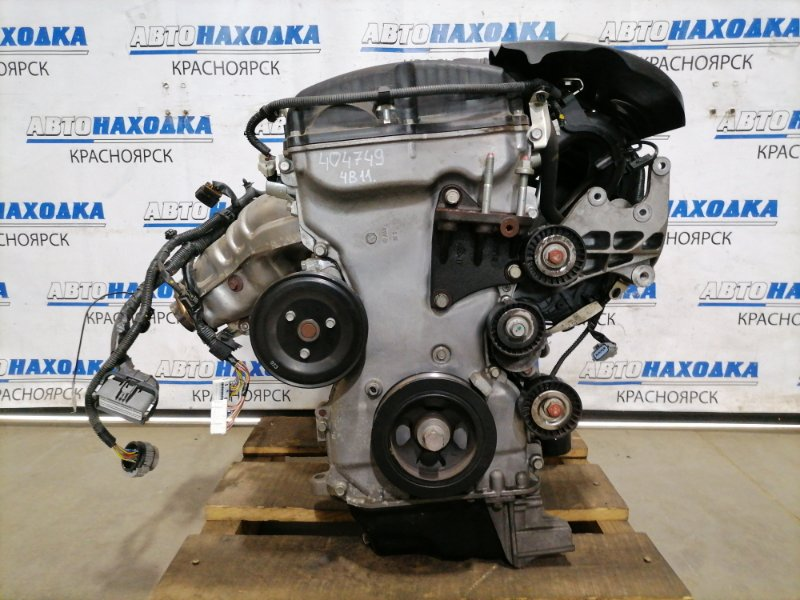 Двигатель Mitsubishi Lancer CY4A 4B11 2007 BC5937 № BC5937, пробег 35 т.км. Есть видео работы ДВС. С