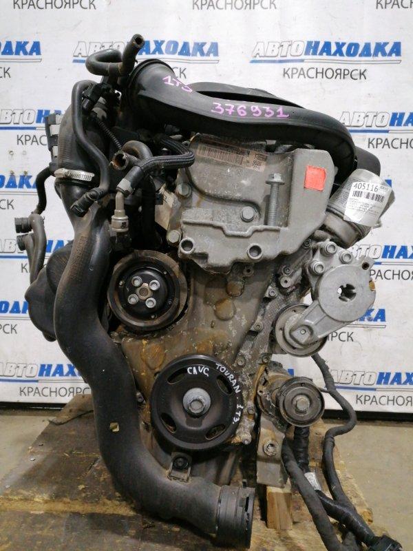Двигатель Volkswagen Touran 1T3 CAVC 2010 376931 1,4 TSI CAVC № 376931, пробег 108 т.км. Есть видео работы ДВС.