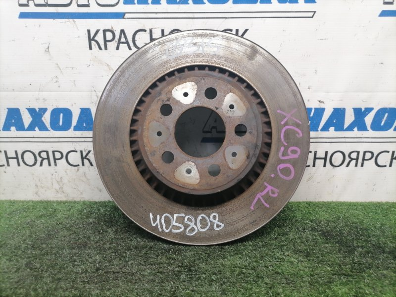 Диск тормозной Volvo Xc90 C_59 B5254T2 2002 задний задний, вентилируемый, 315 мм