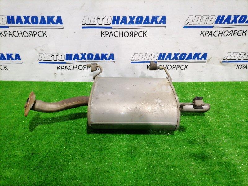 Глушитель Nissan Bluebird Sylphy QG10 QG18DE 2000 Задняя бочка. Пробег 34 т.км. с аукционного авто!