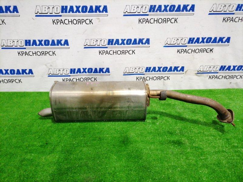 Глушитель Nissan Tiida C11 HR15DE 2008 Задняя бочка. Пробег 20 т.км.! С аукционного авто!