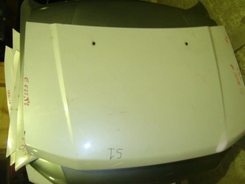 Капот Mitsubishi Pajero Io H77W 4G94 2000 левый 1 модель