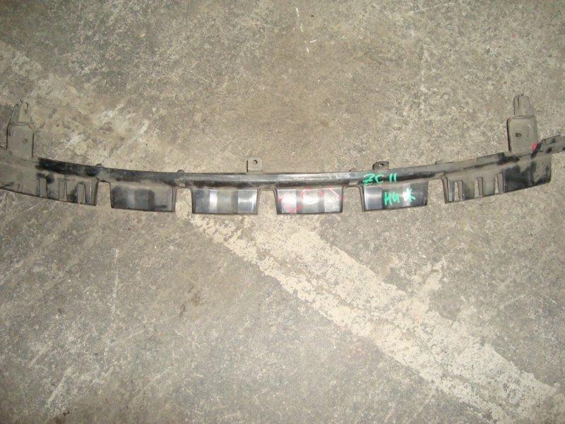 Усилитель бампера Suzuki Swift ZC11S M13A передний швеллер черный нижний