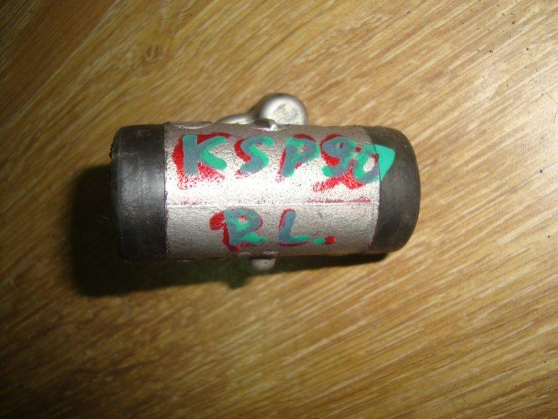 Рабочий тормозной цилиндр Toyota Vitz KSP90 1KR-FE задний левый