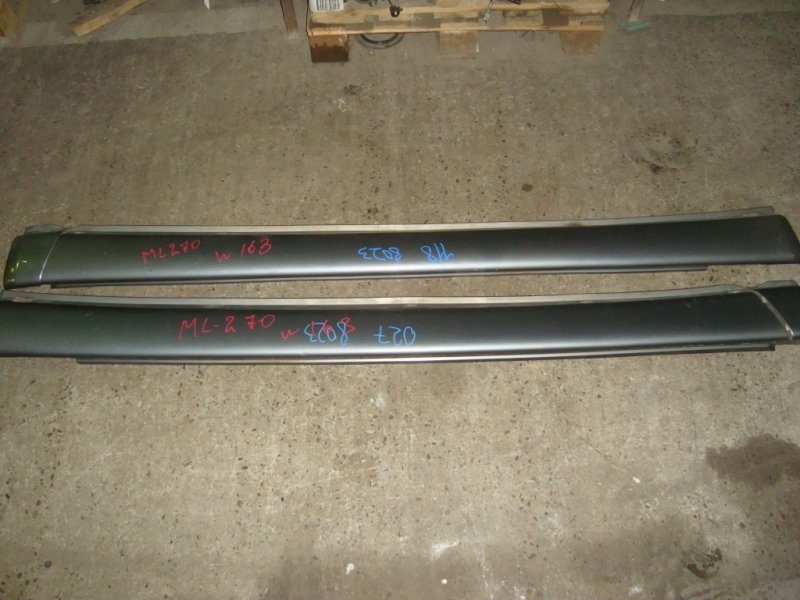 Порог Mercedes Ml270 W163 OM612.963 накладка на порог пластиковая правая+левая