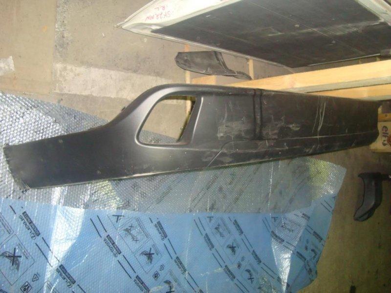 Бампер Toyota Highlander ASU50 1ARFE 2014 задний нижняя часть бампера №52169-0E070