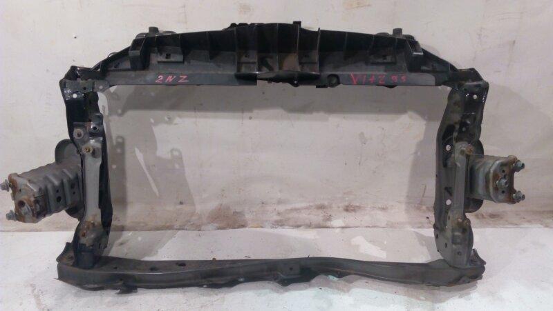 Рамка радиатора Toyota Vitz NCP95 2NZ-FE 2008 с замком, подмят