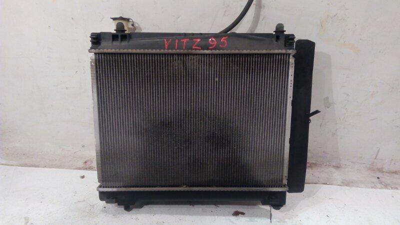 Радиатор основной Toyota Vitz NCP95 2NZ-FE 2008 в сборе