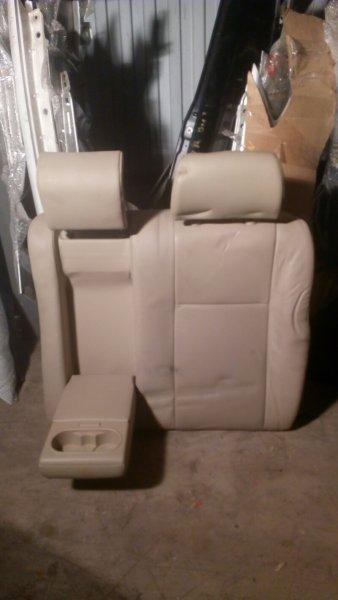 Сидение Ford Mondeo Iii LCBD 2005 заднее левое белая кожа