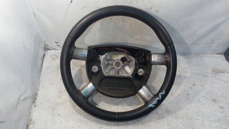 Руль Ford Mondeo Iii LCBD 2005 мульти, 4 спицы, черный, кожа