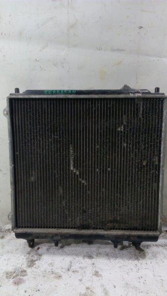 Радиатор основной Hyundai Terracan 2002 2,9л. дизель, 2002 год без заливной горловины