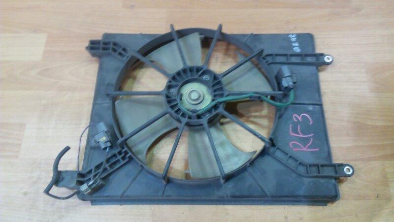 Диффузор радиатора Honda Stepwgn RF3 K20A кондиционера
