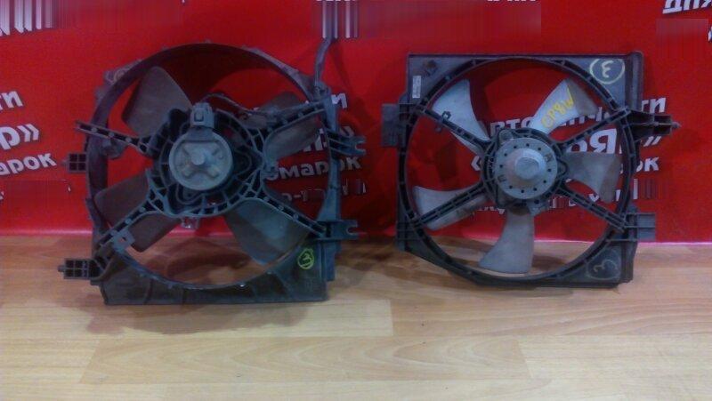 Диффузор радиатора Mazda Premacy CP8W FP 2001 основной и кондиционера