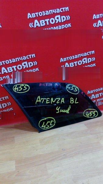 Стекло собачника Mazda Atenza GY3W L3-VE 2004 заднее левое собачник