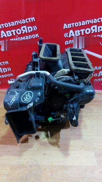 Корпус вентилятора отопителя Honda Accord CL7 K20A 2004 передний КОРПУС С ДВУМЯ РАДИАТОРАМИ