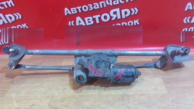 Механизм стеклоочистителя Toyota Altezza GXE10W 1G-FE передний моторчик с трапецией