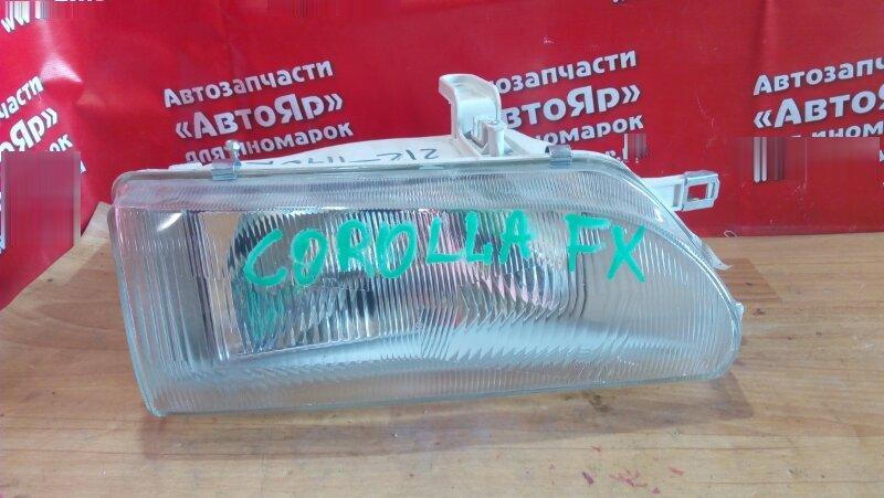 Фара Toyota Corolla Fx AE91 передняя правая новая неоригинал с 87-92 год, ST 212-1140
