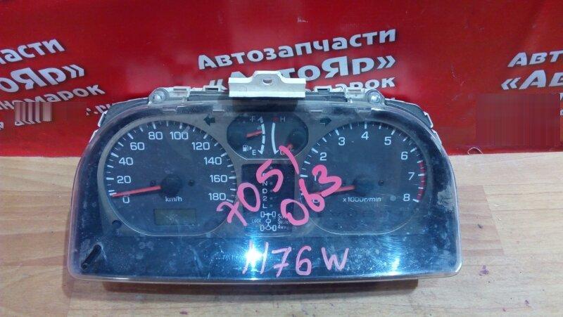 Комбинация приборов Mitsubishi Pajero Io H76W 4G93 MR456330/K7J 257310-6301 А/Т с тахометром